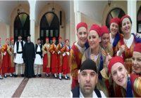 Χορεύοντας στην εκδήλωση για την Παγκόσμια Ημέρα Χορού