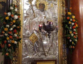 Ἡ Ἱερά πανήγυρις τῆς Μετακομιδῆς τῶν Λειψάνων τοῦ Ἁγίου Νικολάου στόν ὁμώνυμο Ναό του, στήν Πάτρα.